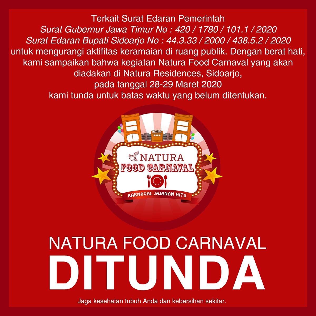 Natura Food Carnaval DITUNDA