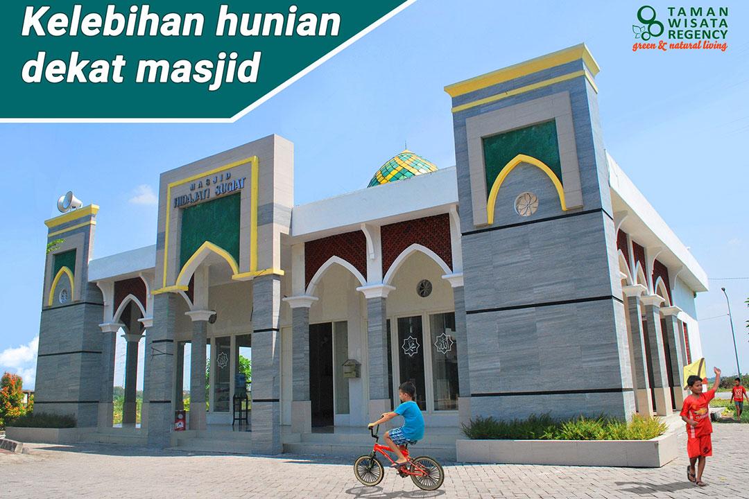 Kelebihan hunian dekat masjid