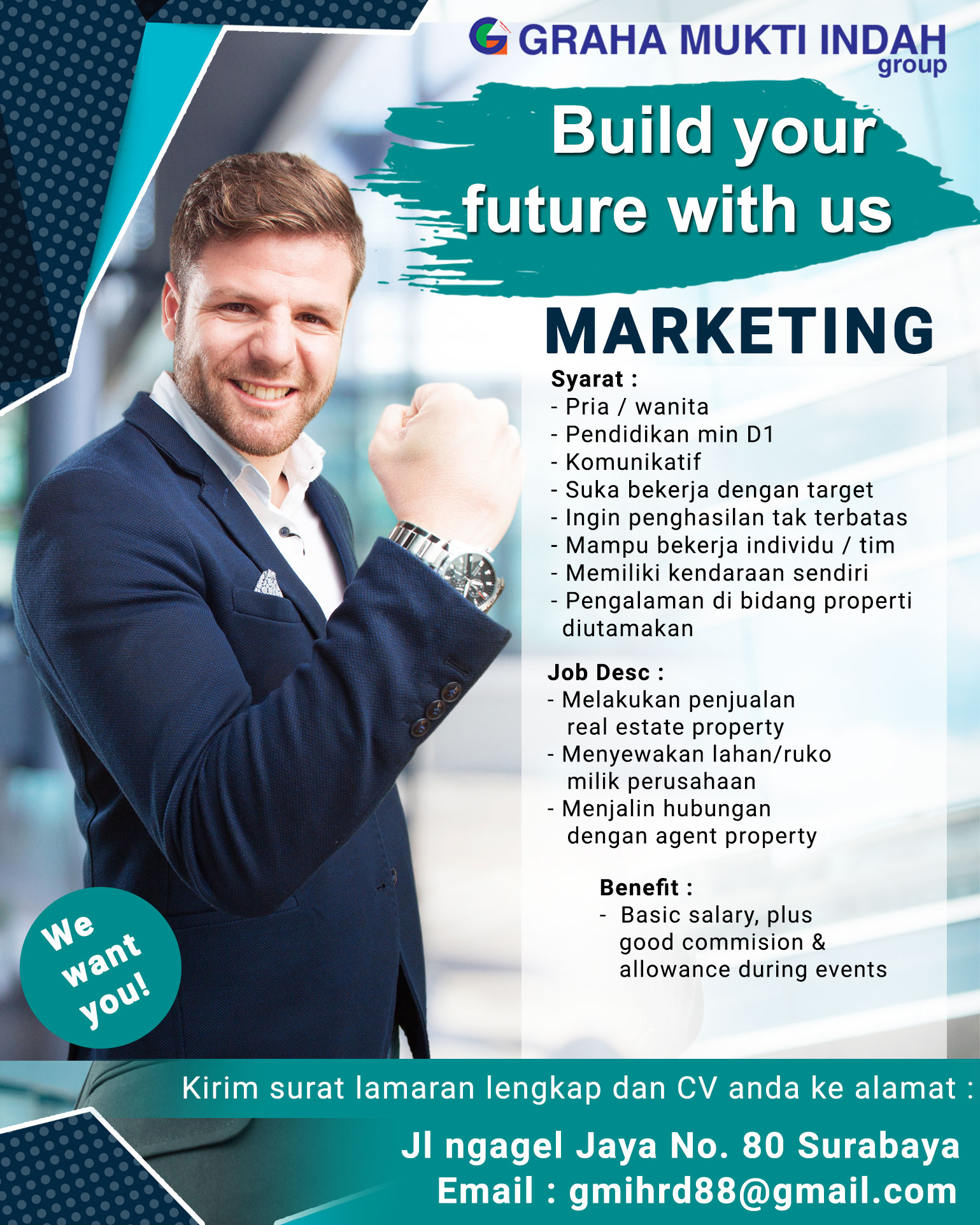 Build Your Future With Us